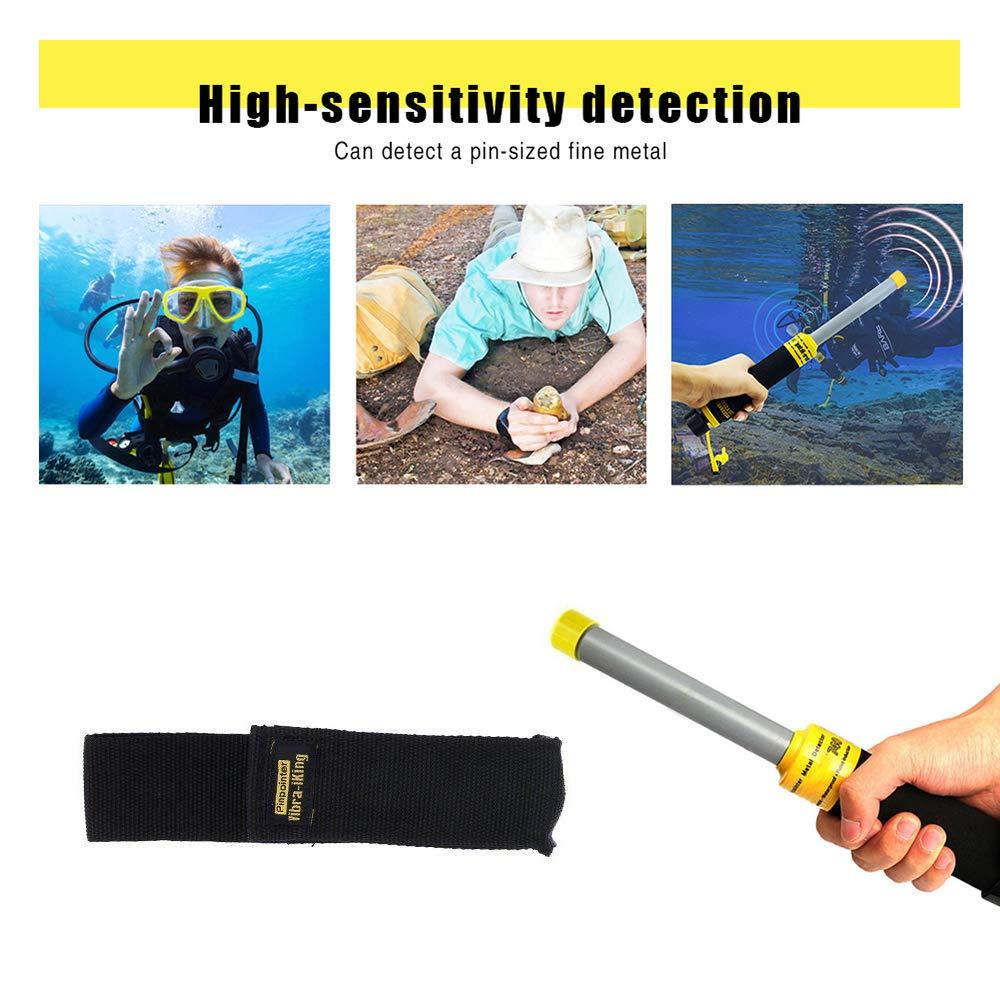 HUKOER PI-iking 730 Detector de Metales a Prueba de Agua Subpaso Inducción de Pulso Inducción: Amazon.es: Jardín