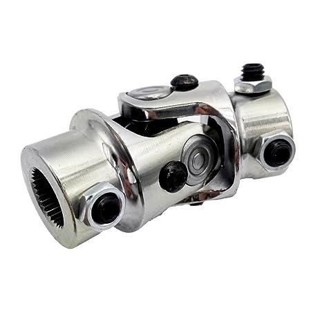 Universal Steel Steering Shaft U-Joint 3/4 DD x 3/4 DD street rod Car & Truck Suspension & Steering Parts Car & Truck Parts