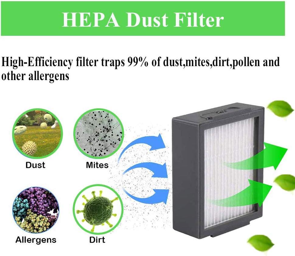 Hepa Filter Roller Side Brush for iRobot Roomba i7 E5 E6 I Series Vacuum Cleaner