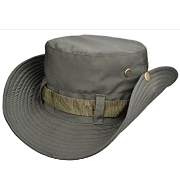Beileer elegante sombrero de protección UV al aire libre sombrero para  exteriores Pesca Camping Ciclismo Caza 3dd7d3c4130