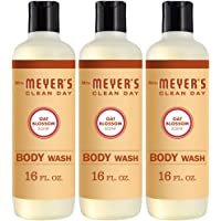 Mrs. Meyer's Clean Day Moisturizing Body Wash, Cruelty Free and Biodegradable Formula, Oat Blossom Scent, 16 oz- Pack of…
