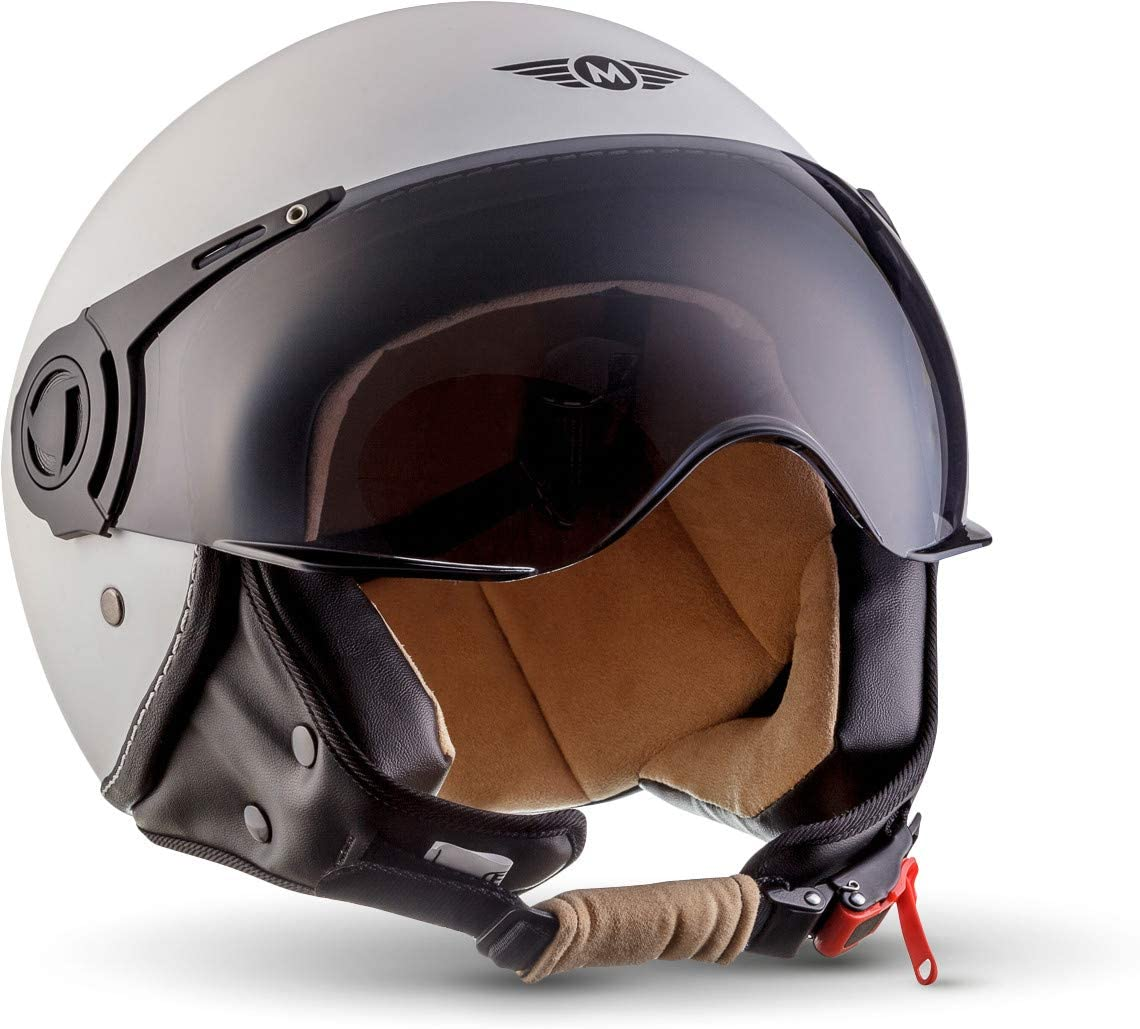 ECE certificato MOTO H44  Casco Demi-Jet Piloto
