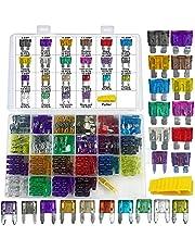 Muhize Assorted Standard Blade Fuses Kit - (2A/3A/5A/7.5A/10A/15A/20A/25A/30A/35A)