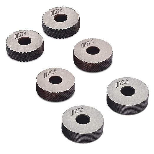 doble rueda rueda diagonal Rueda de rueda de acero rueda lineal juego de ruedas de 0,5 mm 1 mm paso de 2 mm para torre dientes oblicuos