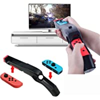 Game Gun Compatible with Nintendo Switch for Wii Remote Nunchuck Shoot Sport Games Like Wolfenstein II: The New Colossus, Big Buck Hunter Bundle, etc(2 Pack)