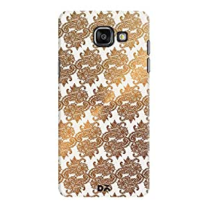DailyObjects Gold Pattern Case For Samsung Galaxy A5 2016 Edition
