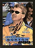Jeff Burton signed autograph auto 1999 Press Pass NASCAR Trading Card