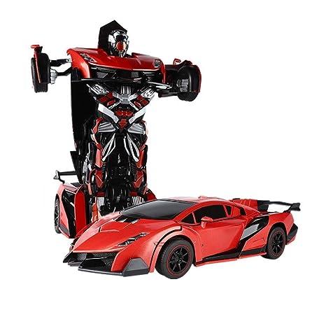 SainSmart Jr. RC Transformation Roboter, Fernbedienung Aktion Deformation Figur, Form-Schicht-Modell Auto, One-Touch-Transfor