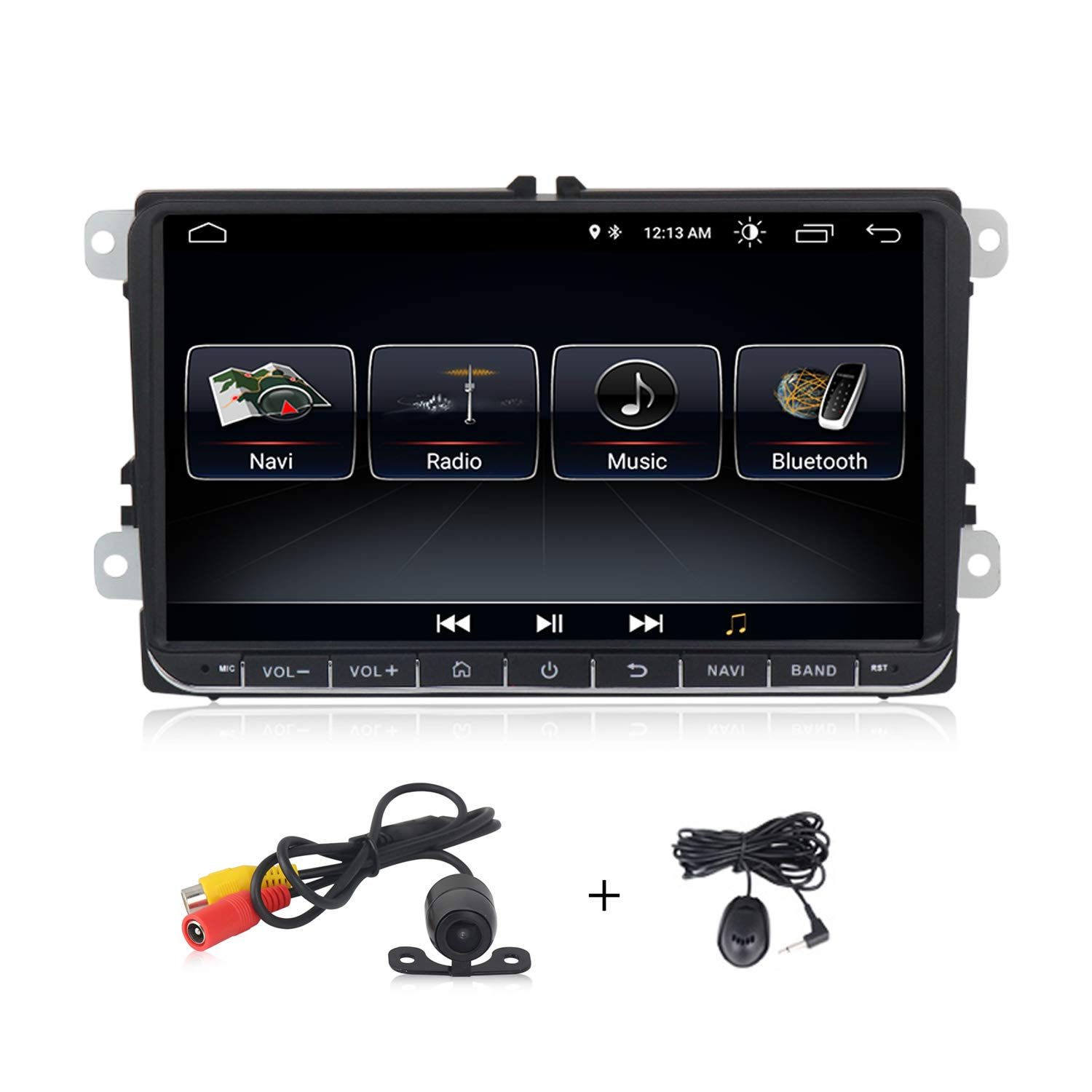 Android 9.0 system 9 inch Car stereo for Volkswagen VW Passat Golf MK5 Jetta Tiguan T5 Skoda Seat GPS Car Navigation GPS Radio by MekedeTech
