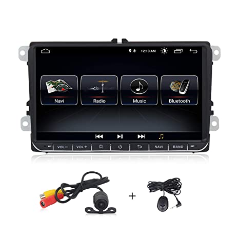 Car Video 9 inch Android 8.1 GPS Navigation for VW Volkswagen Jetta 2012-2015 with Bluetooth WiFi FM/AM/RDS Support OBD II Rear Camera Car Electronics