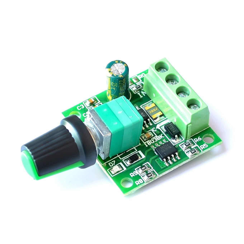 10PCS/LOT DC 1.8V 3V 5V 6V 12V 2A PWM Motor Speed Controller Low Voltage Motor Speed Controller PWM 0~100% Adjustable Drive