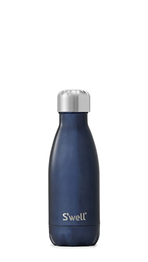 Su0027well Vacuum Insulated Stainless Steel Water Bottle, 9 Oz, Blue Suede