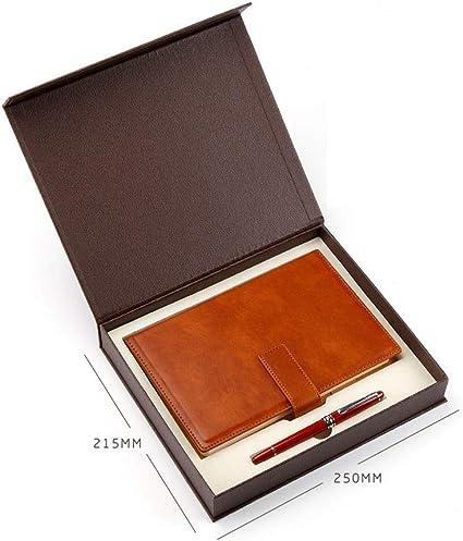 Hengtongtongxun - Cuaderno de regalo y estuche para bolígrafos, juego de cuadernos de regalo, para el día