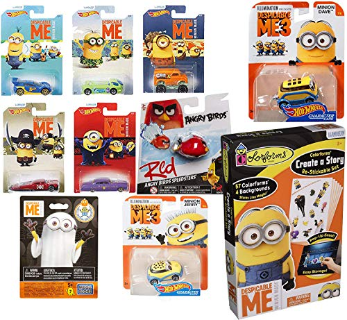 Angry Minions Story Hot Wheels Toy Exclusive Despicable
