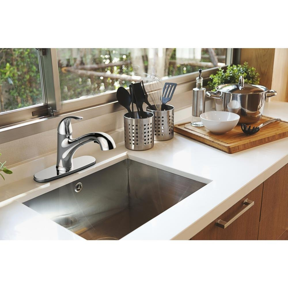 Glacier Bay Market pull-out Kitchen Faucet Chrome