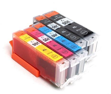 Amazon.com: Multipack - 5 compatible XL Ink cartridges CANON ...