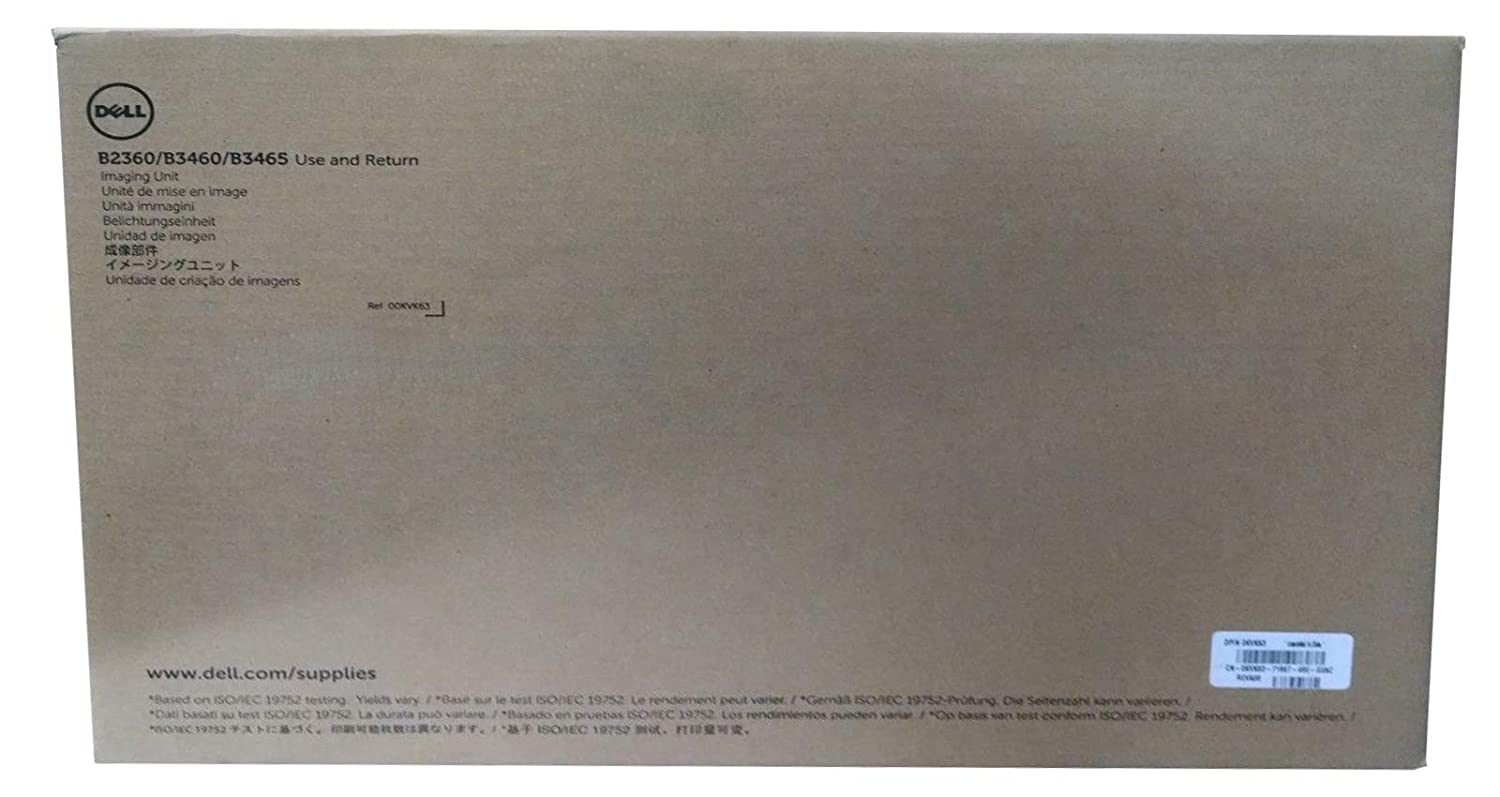 KVK63 Dell Imaging Unit Drum Cartridge 60k Pages Use & Return b3460dn Dell b3460