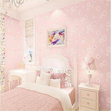 Tapeten Wandbild Hintergrundbild Fototapete Mädchen Rosa ...