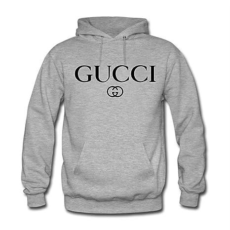 Gucci - Sudadera con Capucha - para Mujer Gris M: Amazon.es: Ropa y accesorios