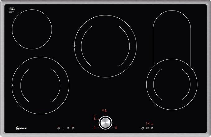 Opinión sobre Neff t18bt16 N0 hobs eléctrico/vitrocerámica/vidrio y cerámica/79,50 cm/interfaz de cocina vitrocerámica/vidrio y cerámica/Negro