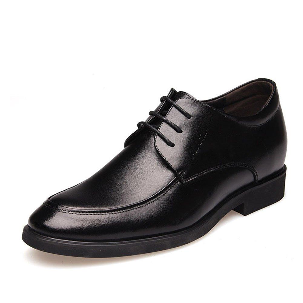CAI Herren Schuhe Kunstleder Formale Schuhe Frühjahr Sommer Herren Komfort Kleid Schuhe schwarz braun Party & Abend Lederschuhe (Farbe   Schwarz, Größe   41)