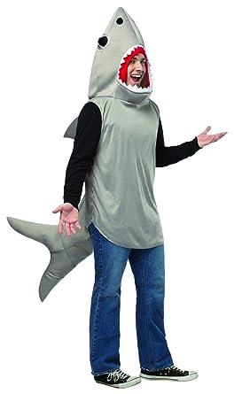 Amazon.com: Disfraz de tiburón de arena para adulto, unisex ...