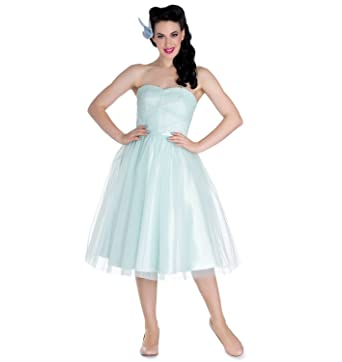 Hell Bunny Party Prom Dress Princess Fairy Tamara Net Mint Green S 10