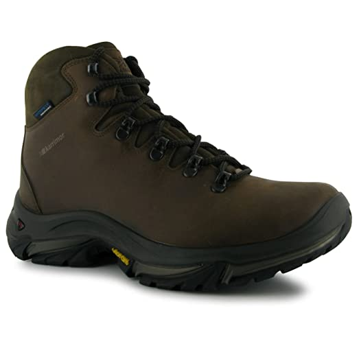Mens Gents Cheviot Waterproof Walking Hiking Outdoors Shoes Boots Brown 7 (41)