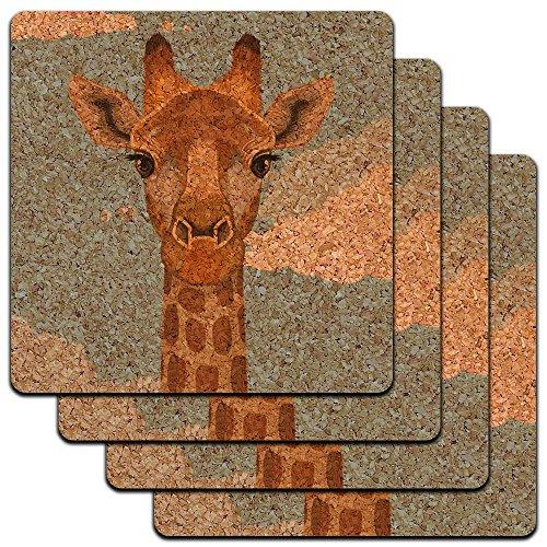 Giraffe Animal Safari Profile Coaster