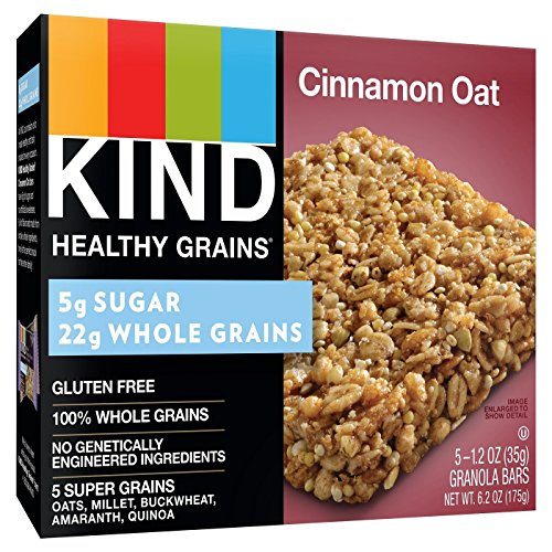 Granola Cinnamon Crunch (KIND Healthy Grains Granola Bars, Cinnamon Oat, 6.2 oz (3-Pack))