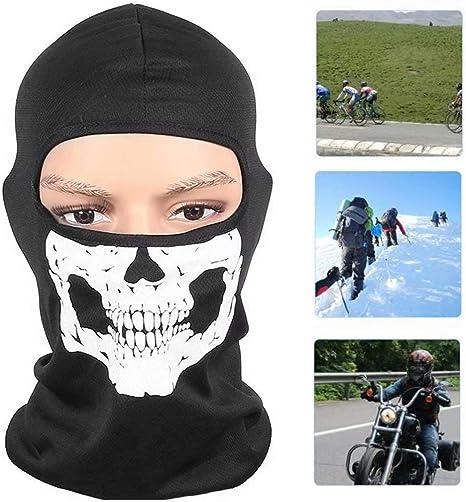 Skull Biker Full Face Mask Skeleton Motorcycle Cycling Riding Hiking Ski Mask