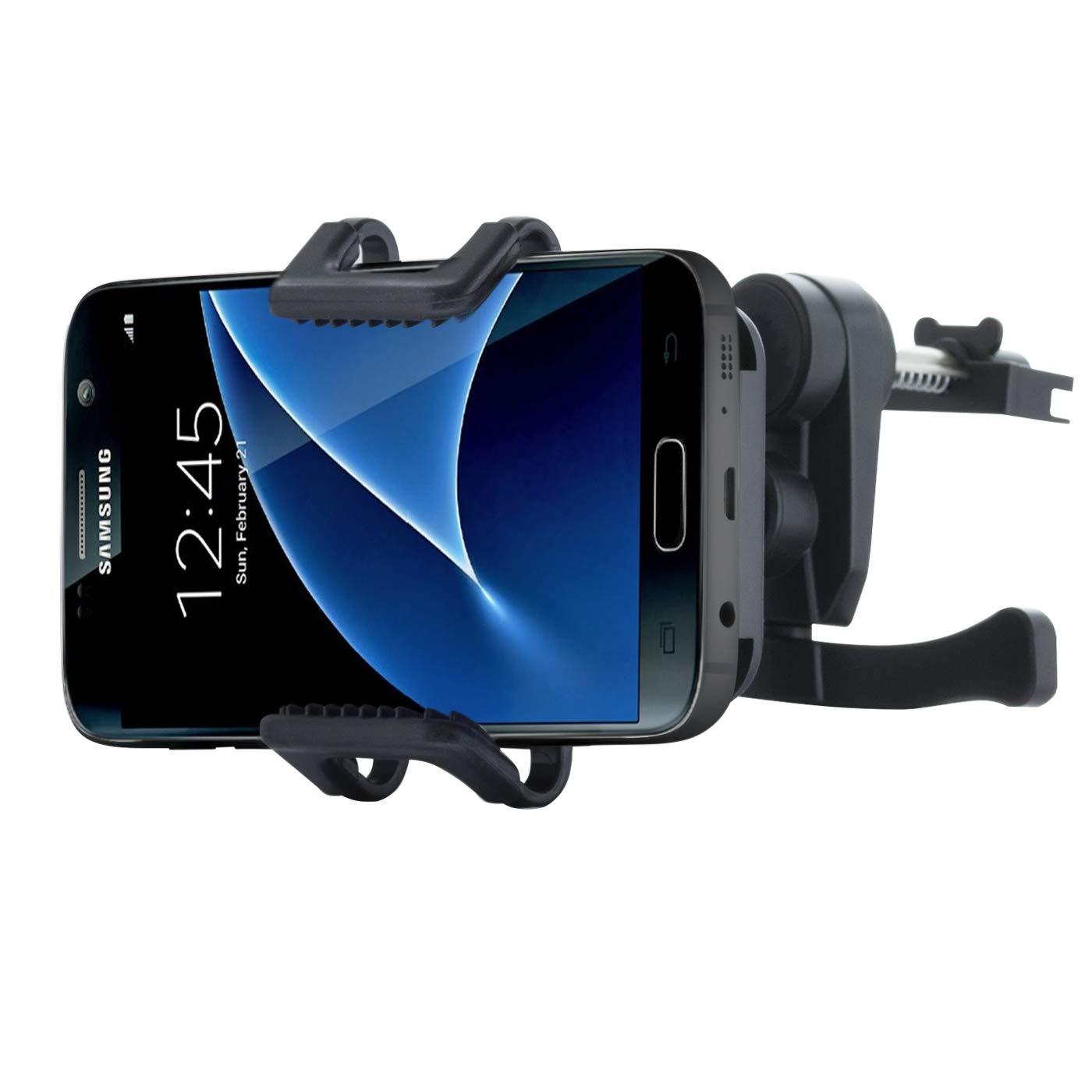 Ladeger/ät Micro USB Ladekabel KFZ Adapter f/ür Samsung Galaxy S7 S6 Edge S5 Neo S4 S3 Mini A3 A5 A7 J1 J3 J5 J7 Note 1 2 3 4 5 NessKa/® Premium Auto Handy L/üftung Halter Halterung mit Ladefunktion