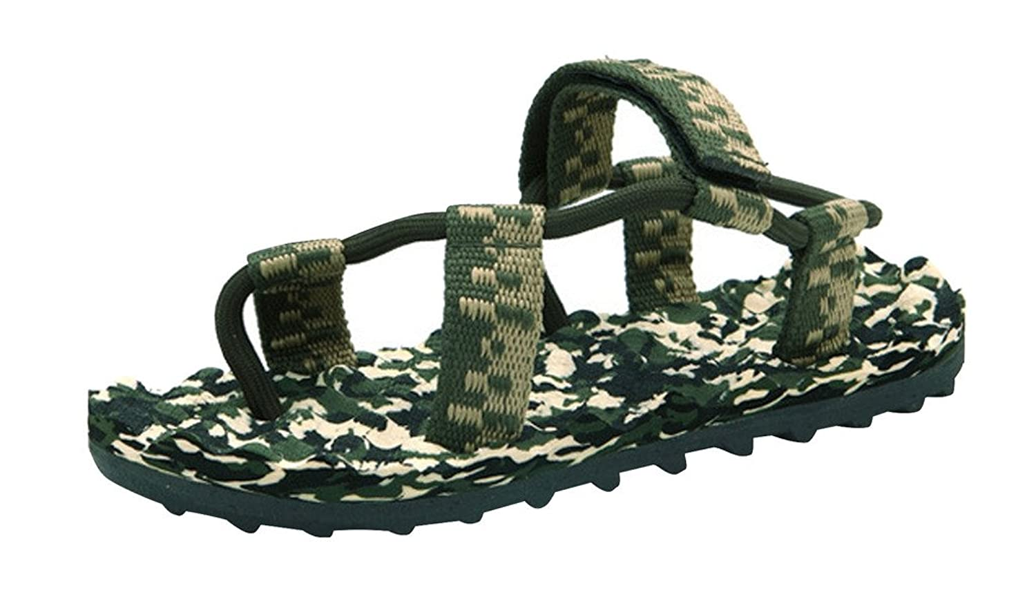 YangguTown Men's Outdoor Sandal Summer Soft Beach Water Shoe