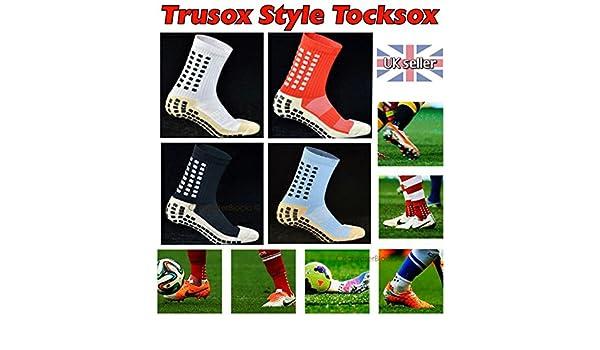 Trusox estilo tocksox tocksocks mitad de la pantorrilla fútbol fútbol deportes calcetines, Azure: Amazon.es: Deportes y aire libre