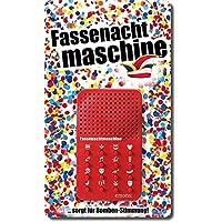 Mainzer Fassenachtmaschine: Soundmaschinemit Schnur zum Umhängen