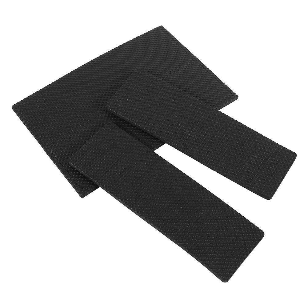 4 Piezas Negras Antideslizantes Autoadhesivas para Piso Protectores de Muebles Sof/á Silla de Escritorio Almohadillas de Goma para pies Acouto Almohadillas de Goma para pies
