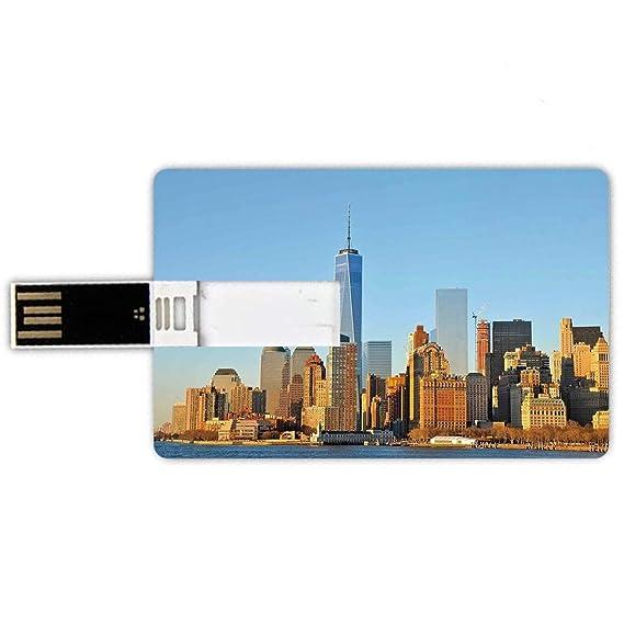 8GB Forma de tarjeta de crédito de unidades flash USB Paisaje ...