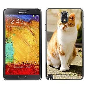 Etui Housse Coque de Protection Cover Rigide pour // M00133957 Antecedentes animal adorable Hermosa // Samsung Galaxy Note 3 III N9000 N9002 N9005