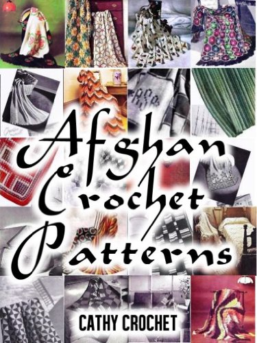 Crochet Afghan Pattern Chart - Afghan Crochet Patterns - Twenty Vintage Crochet Patterns for Modern Women