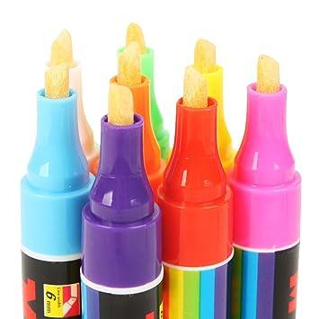 Amazon Com Jingyango Set Of 8 Colors Fluorescent Marker