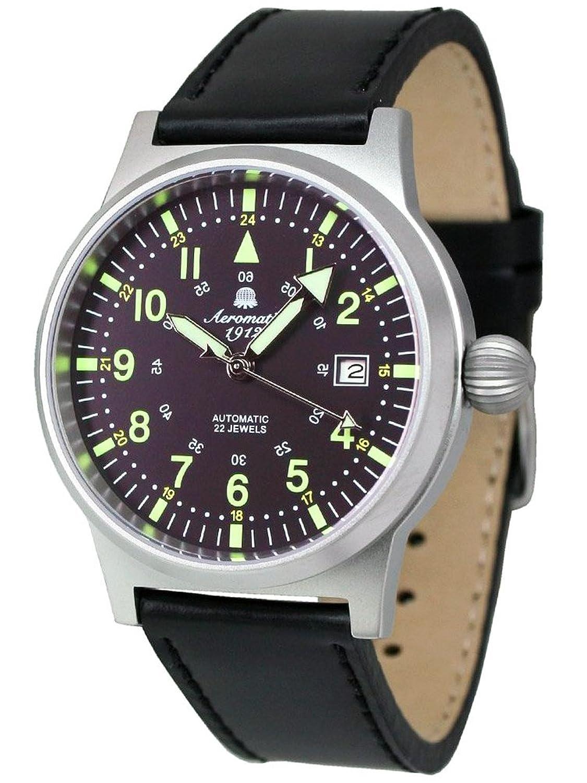 エアロマチック1912 腕時計 自動巻き 夜光針 夜光インデックス A1418 [並行輸入品] B00LMW6FVI