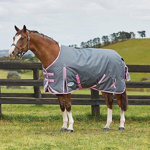 Weatherbeeta Comfitec Plus Breast Cancer Foundation Standard Neck Medium Charcoal/Pink 78''