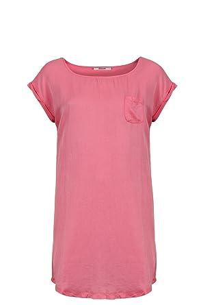 shirt kleid kurz pink