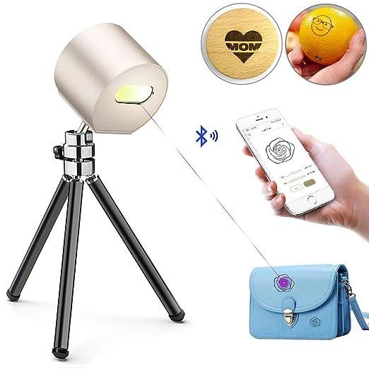 MaquiGra Grabadora Láser Bluetooth Mini Máquina de Grabado ...