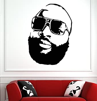 Rick ross wall decals decor vinyl stickers gmo2505