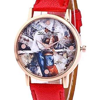 Scpink Relojes de Cuarzo para Mujeres d2509585b8a9