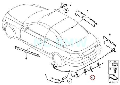 Amazon Com Bmw Genuine Fm Bumper Mounted Antenna Automotive