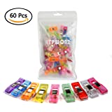 ATPWONZ 60pcs Wonder Clips Sewing Clips for Binding Quilting Crafting