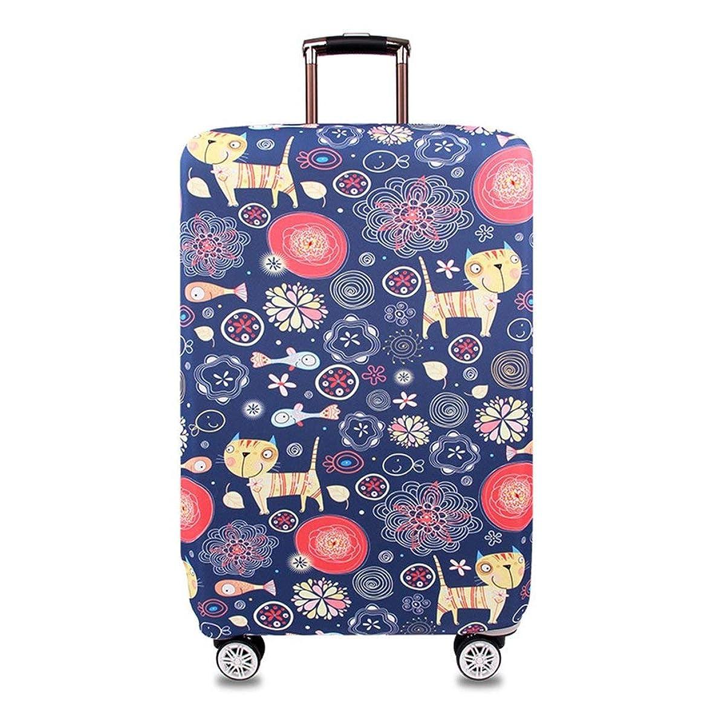 施し貸し手いとこスーツケースカバー 透明(22、24、26、28インチ)お荷物 防水 傷 汚れ 防止 出張 旅行 ラゲッジカバー キャリーバッグ クリア