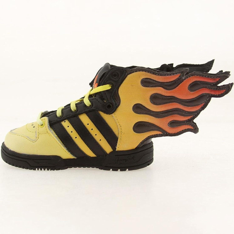Amazon.com   Adidas Toddlers Flasmes I Black/Sun Dark Orange D65987 6    Fashion Sneakers